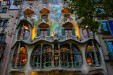 "<div class=""rtejustify""> 	Casa Batlló, one of Antoni Gaudí's masterpieces, evokes the dreamlike quality of Gaudí's works. This outer façade features pillowy curves and graceful, whimsical lines. The stone seems molded in a way to be reminiscent of sinew and bones.<br /> 	 <br /> 	Famed Barcelonian architecture has a fanciful vibe, a bit funky and hallucinogenic, like Alice in Wonderland. </div>"